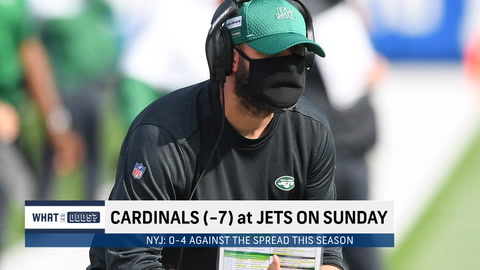 What are the odds for the Jets to beat the Cardinals?