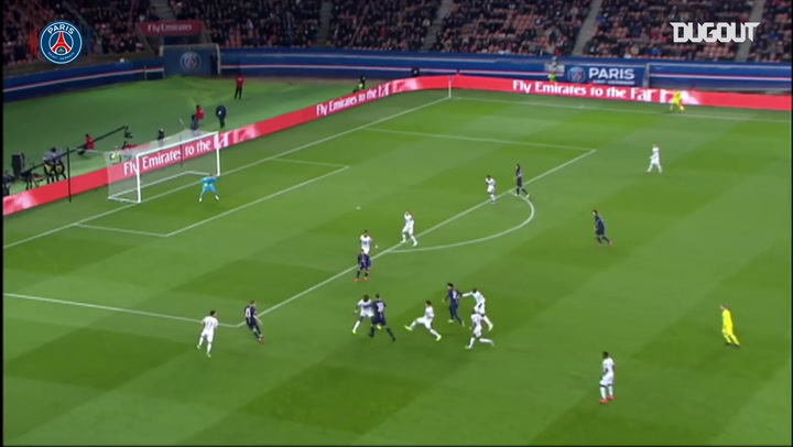 Paris Saint-Germain's best five goals against Rennes