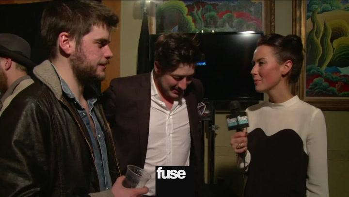 Interviews: Mumford and Sons Grammys Interview