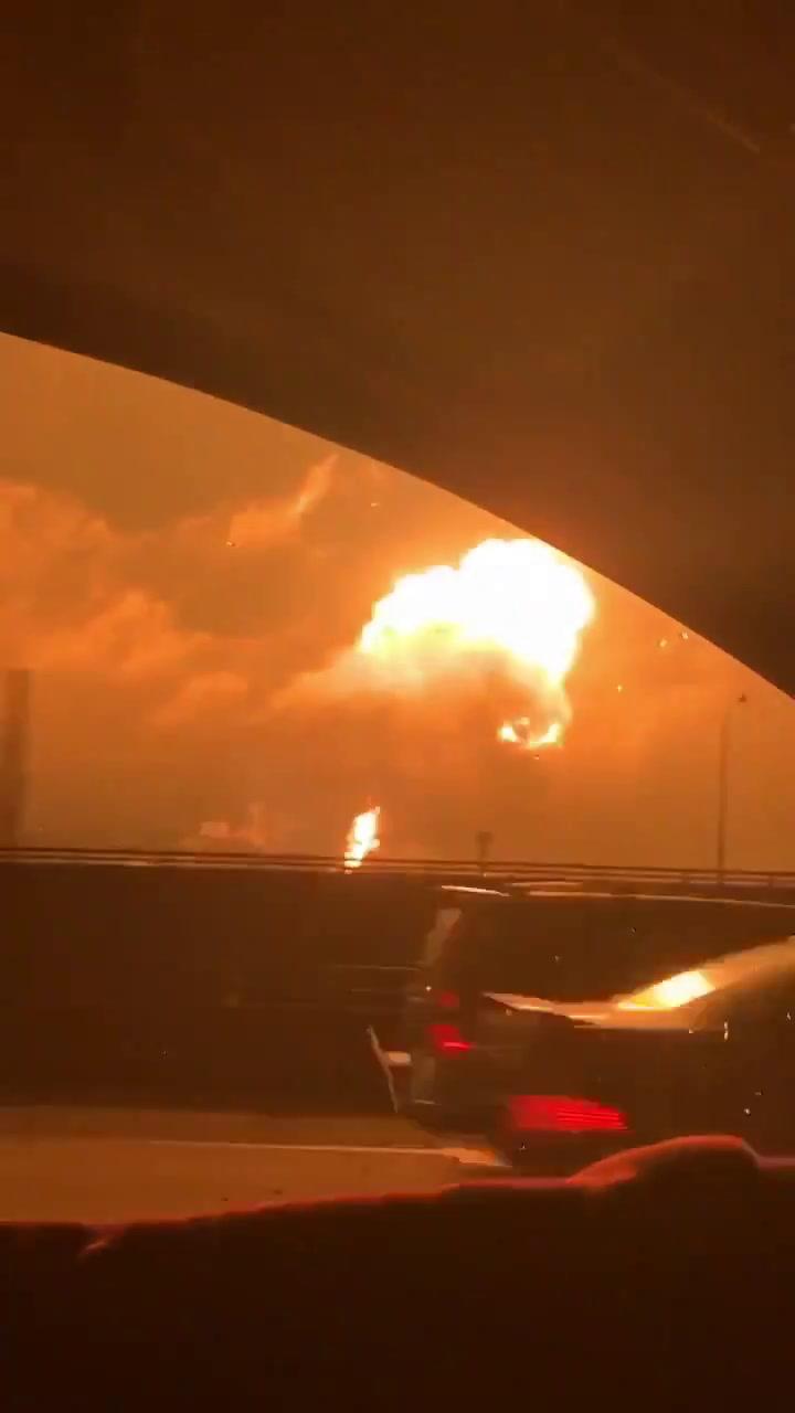 Una explosión en una refinería de Filadelfia conmociona Estados Unidos