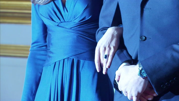 El anillo de compromiso de Diana de Gales que lleva Kate Middleton fue un regalo... ¡del príncipe Harry!