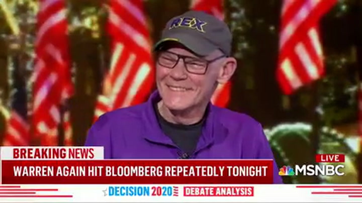 James Carville: Bernie Was 'Off' Tonight, Looked Like He Was Sick