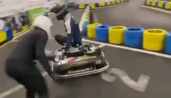 El cambio de piloto más rápido que vas a ver....