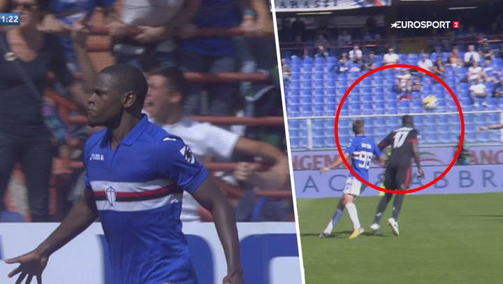 Highlights: Håbløst forsvarsspil fra AC Milan giver Sampdoria sejren