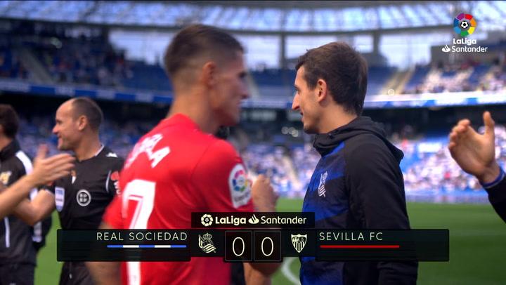 LaLiga (J5): Resumen del Real Sociedad 0-0 Sevilla