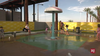 Aviators splash pad lets fans stay cool