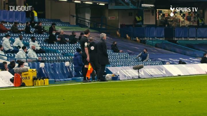 José cam: Tottenham hold firm at Stamford Bridge