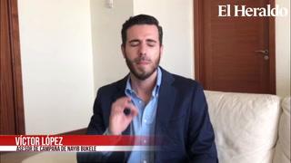 Víctor López: El triunfo fue del pueblo salvadoreño