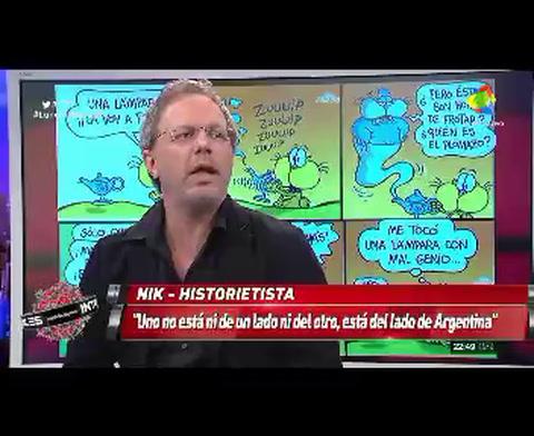 Nik: Hacer humor en un país que duele es complicado
