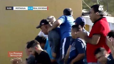 Video: El golazo de tijera de Juan Pablo Montes en el Motagua - Real Sociedad