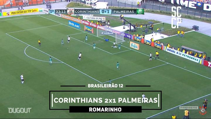 Romarinho's first Corinthians goal