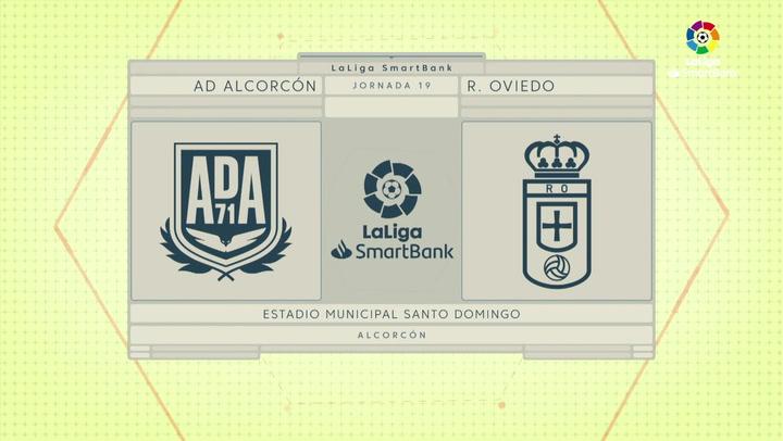 LaLiga SmartBank (J19): Resumen y goles del Alcorcón 1-3 Oviedo