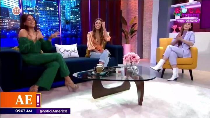 Luciana Fuster reveló detalles acerca del acercamiento con Marc Anthony