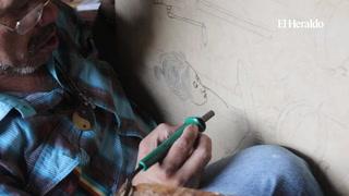 Marcio Fajardo, un genuino artista del fuego en Honduras