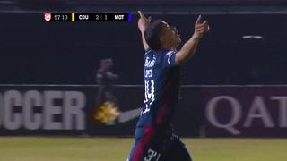 Kevin López revive a Motagua en Panamá y anota el 1-2 ante Universitario en Liga Concacaf