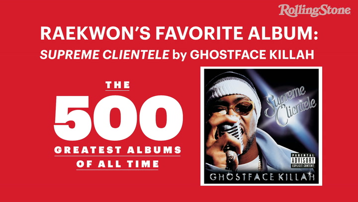 Raekwon Discusses His Top 10 Favorite Albums | Rolling Stone