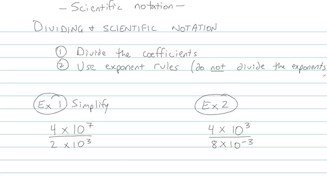Scientific Notation - Problem 4