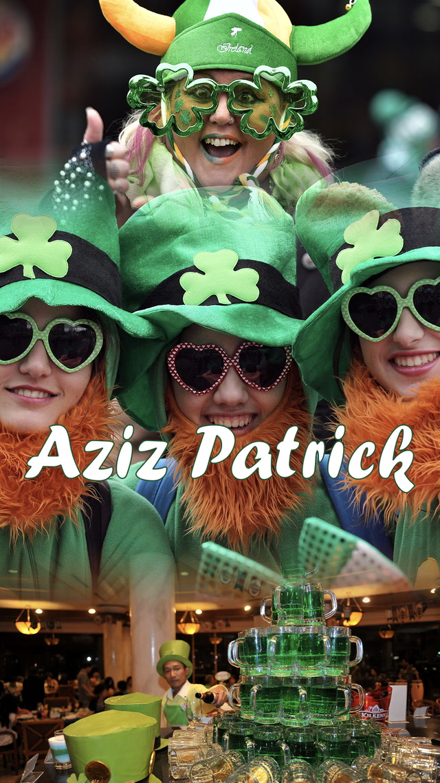 Günü yeşillendiren Aziz Patrick