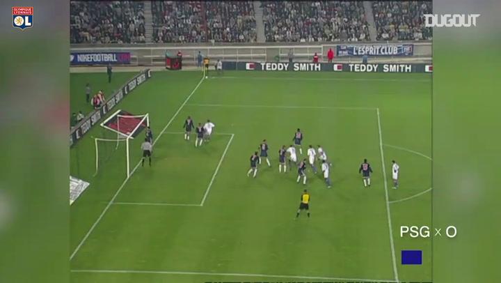 Olympique Lyonnais' best goals at Paris