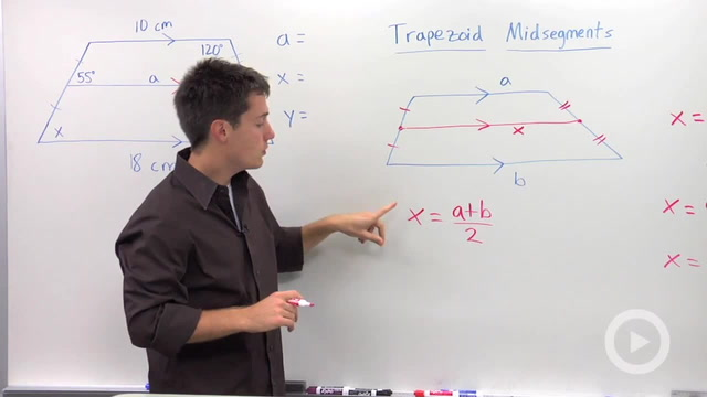 Trapezoid Midsegment Properties - Problem 1