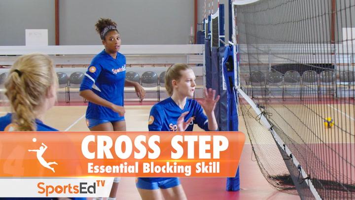 CROSS STEP BLOCKING: Essential Volleyball Blocking Skill