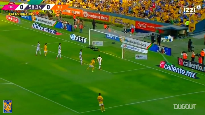 Gignac's superb header goal vs Tijuana