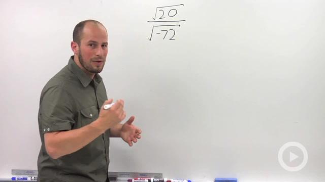 Dividing Complex Numbers - Problem 1