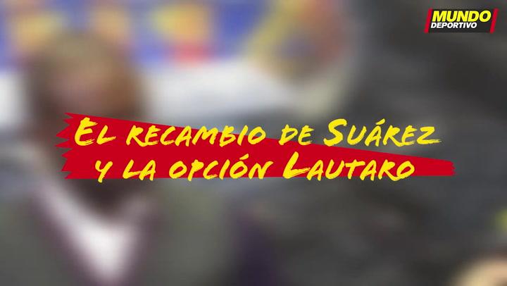 Entrevista Éric Abidal: El recambio de Suárez y la opción Lautaro