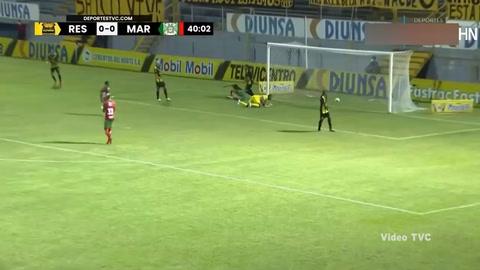 Gol de Bruno Volpi al Real España (Liga Salva Vida)