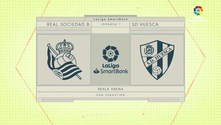 LaLiga 123 Jornada 7 R. Sociedad B 0-2 S.D. Huesca