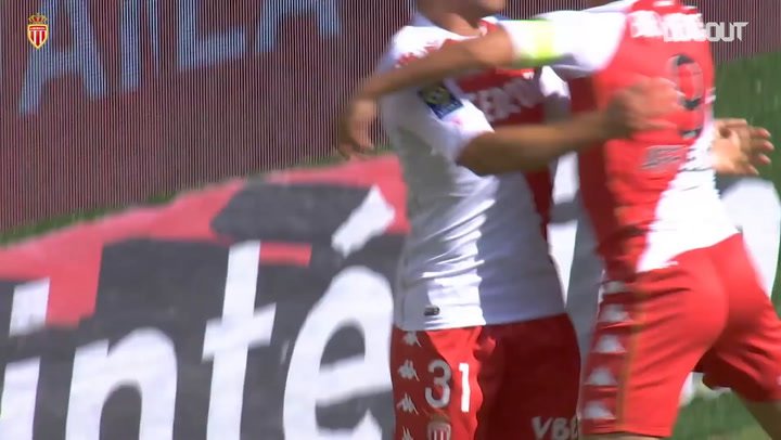 Monaco's emphatic win vs Strasbourg