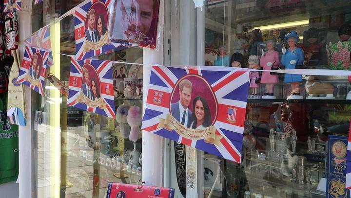 ¿Cómo se prepara Windsor para la boda de Harry y Meghan? HOLA.com es testigo