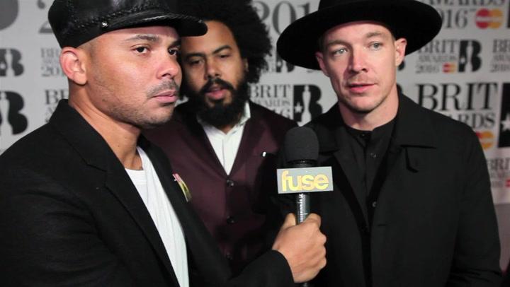 Major Lazer On Competing Against U2 At BRIT Awards 2016