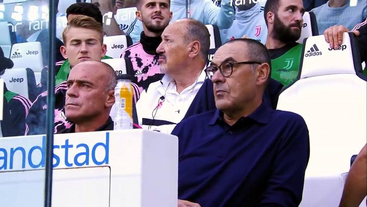La Juve agradece a Maurizzio Sarri su trabajo con el equipo
