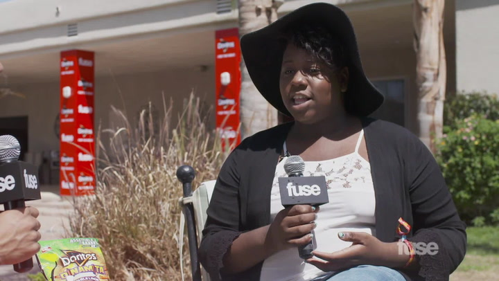Festivals: Coachella 2015: Alex Newell Interview
