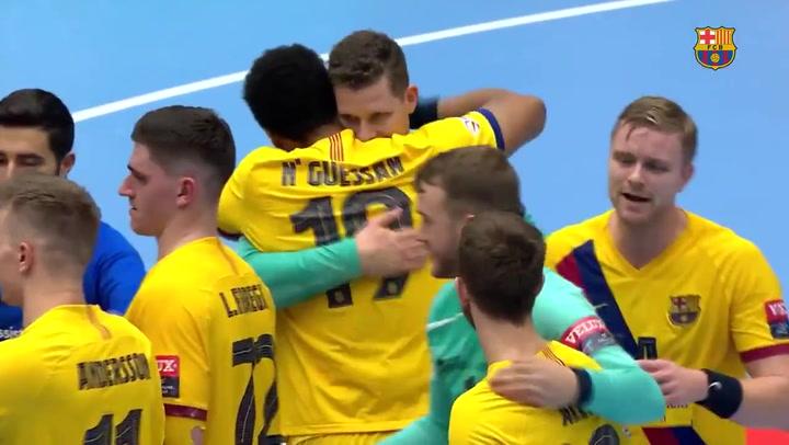 Resumen del Aalborg-Barça (30-34)