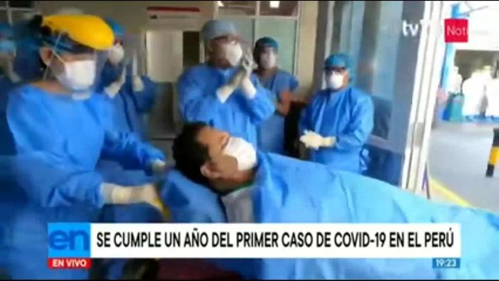 Se cumplió un año del primer caso diagnosticado de COVID-19 en el Perú