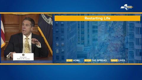 Récord de muertes diarias en Nueva York por el coronavirus