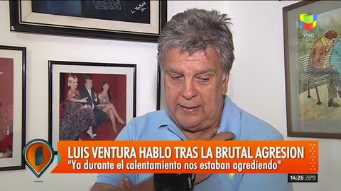 Luis Ventura habló con Intrusos sobre la golpiza que sufrió