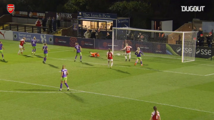 Arsenal Women's best goals vs Bristol City