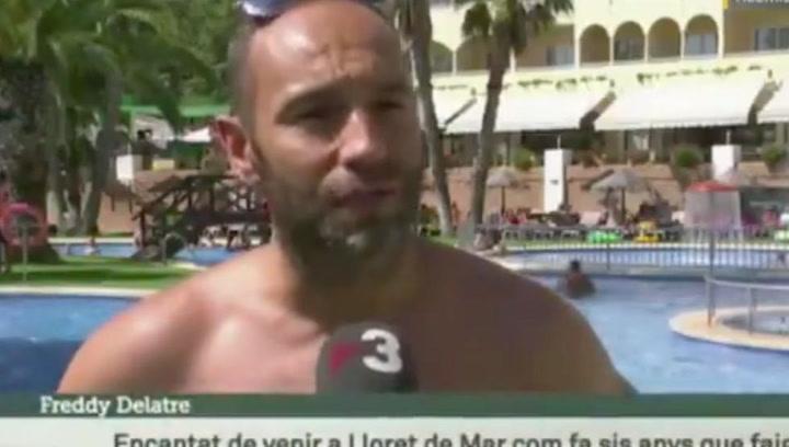 Críticas a TV3 por una traducción a un turista que hablaba de 'república catalana'