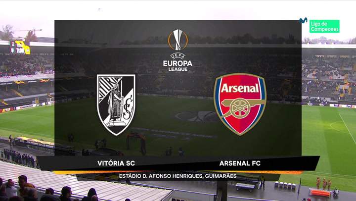 Europa League: Resumen y Goles del Vitoria - Arsenal
