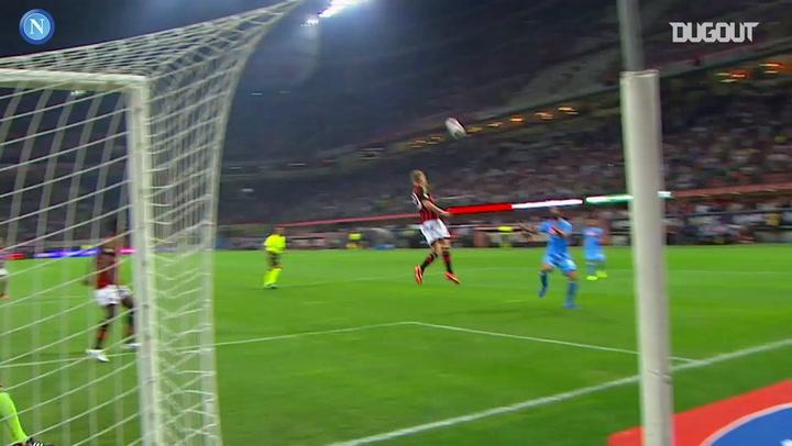 Throwback: Milan 1-2 Napoli 2013