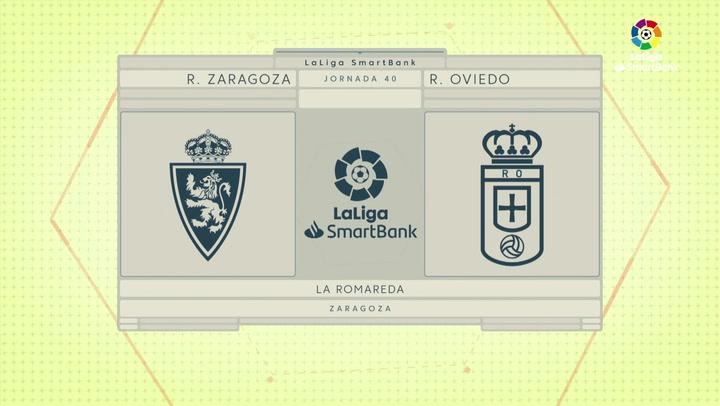LaLiga SmartBank (J.40): Zaragoza 2-4 Oviedo