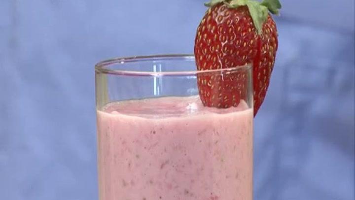 Hvordan lage jordbærshake