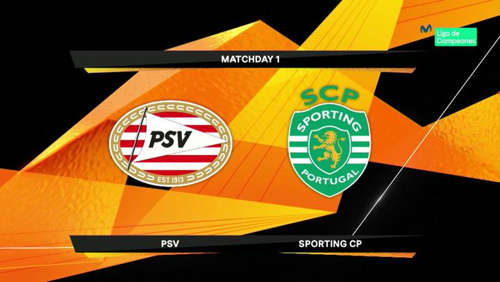 Europa League: Resumen y Goles del Partido PSV-Sporting Lisboa