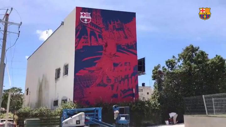 El Barça presenta su nueva Barça Academy en la República Dominicana