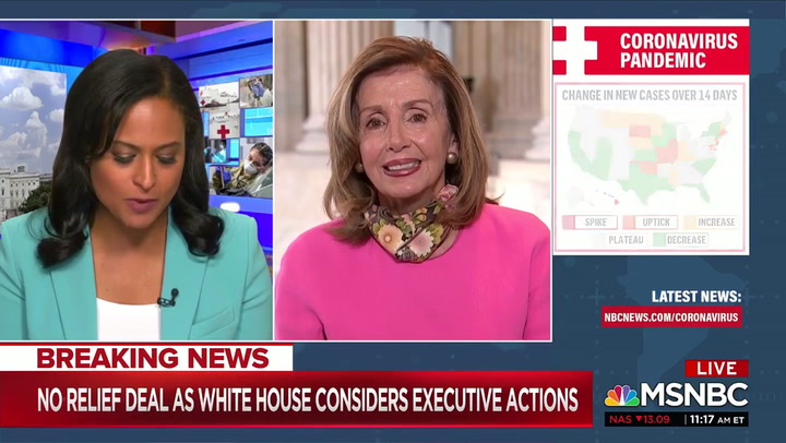 Pelosi: Trump Is 'Projecting Himself' When He Says Biden Is Against God- He Knows Nothing About Church