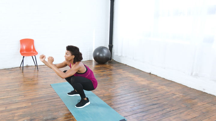 Watch Now: How To Do Squat Jumps
