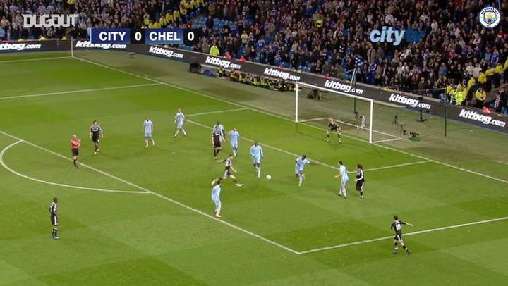 Résumé Manchester City 2-1 Chelsea 2012